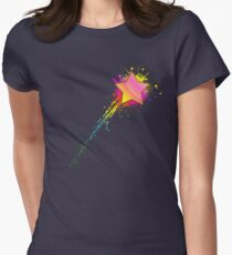 Shooting Star Womens Fitted T-Shirt
