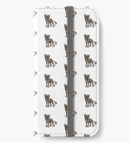 Chinese Crested iPhone Wallet