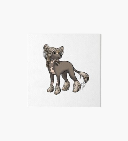 Chinese Crested Art Board