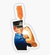 Marching Band Rosie  Sticker