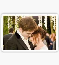 Twilight wedding Sticker