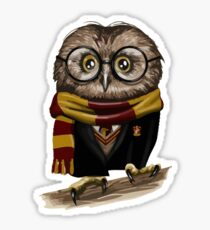 Owly Potter Sticker