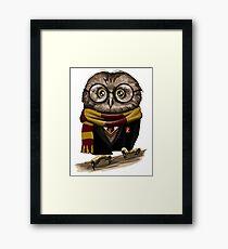 Owly Potter Framed Print