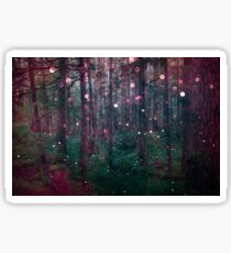 Forest Trees Nature Walk - Magical Fairy Glow Night Sticker