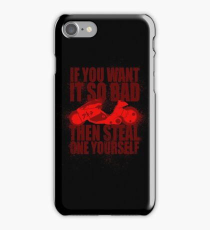 You Want One iPhone Case/Skin