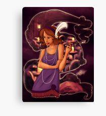 Undercover Widow Canvas Print
