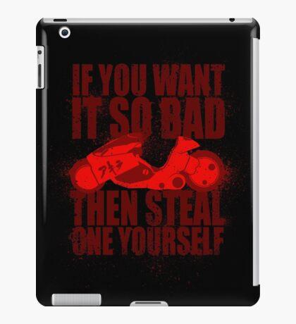 You Want One iPad Case/Skin