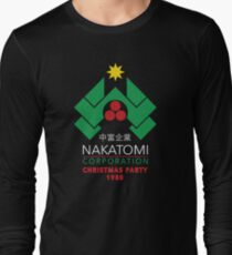 Nakatomi Corporation - Christmas Party Long Sleeve T-Shirt