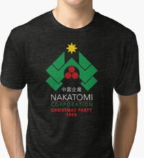 Nakatomi Corporation - Christmas Party Tri-blend T-Shirt