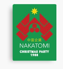 Nakatomi Corporation - Christmas Party Variant Canvas Print