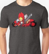 Calvin and Hobbes Akira Anime Unisex T-Shirt
