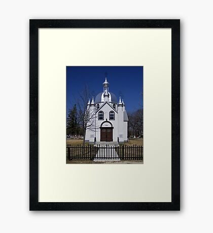 St, Nicholas, Ukrainian Orthodox Church Framed Print