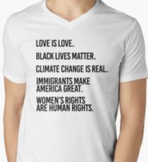 Love is Love and Black Lives Matter T-Shirt