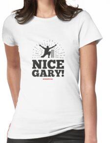 Nice Garry - Bowling Gary! Womens Fitted T-Shirt
