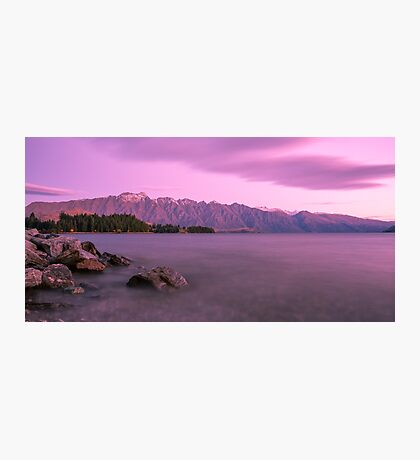 Queenstown Sunset Photographic Print