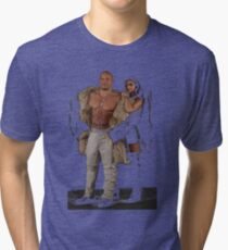 XXX Return Of xander Cage Xander and Serena Tri-blend T-Shirt