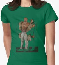 XXX Return Of xander Cage Xander and Serena Womens Fitted T-Shirt