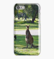 Kangaroo Golfers iPhone Case/Skin