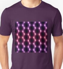 Lens Flare overlap red pink mix pattern T-Shirt