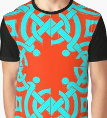 Azulejo Geometrical Design Graphic T-Shirt