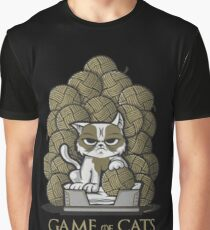 Game of Cats Graphic T-Shirt