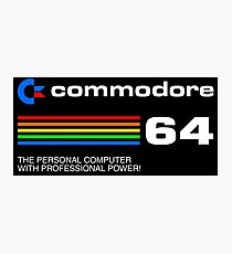 Commodore 64 - personal computer Photographic Print