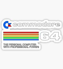 Commodore 64 - personal computer Sticker
