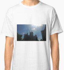 Bath Abbey - Silhouette and Sun Classic T-Shirt