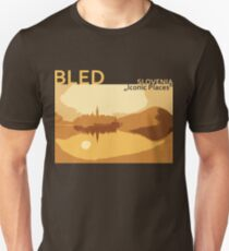 Bled Slovenia - Iconic Places Unisex T-Shirt