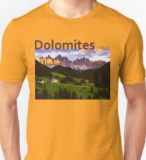 Dolomites Italy - Iconic Places Unisex T-Shirt
