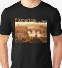Florence Italy - Iconic Places Unisex T-Shirt