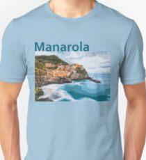 Manarola Italy - Iconic Places Unisex T-Shirt