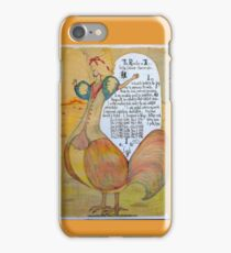 The Rooster. Chinese Horoscpe iPhone Case/Skin