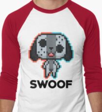 8-bit Swoof Men's Baseball ¾ T-Shirt