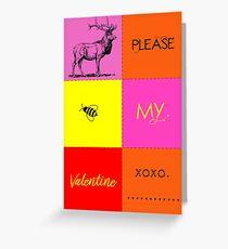 Valentine Puzzle Greeting Card