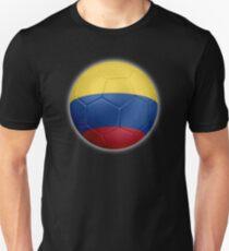 Columbia - Columbian Flag - Football or Soccer 2 Unisex T-Shirt