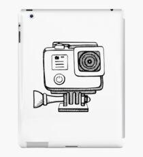 Action camera iPad Case/Skin
