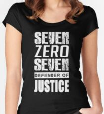 SEVEN ZERO SEVEN Mystic Messenger Collection 7 Women's Fitted Scoop T-Shirt