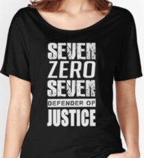 SEVEN ZERO SEVEN Mystic Messenger Collection 7 Women's Relaxed Fit T-Shirt