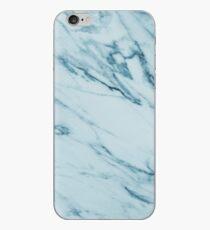 Vinilo o funda para iPhone Alberta Verde - mármol azul