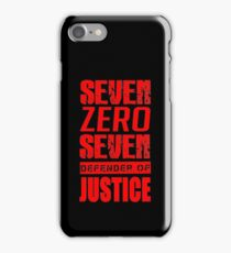 SEVEN ZERO SEVEN Mystic Messenger Collection 3 iPhone Case/Skin