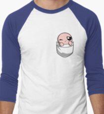 The Binding of Isaac, pocket Isaac Men's Baseball ¾ T-Shirt