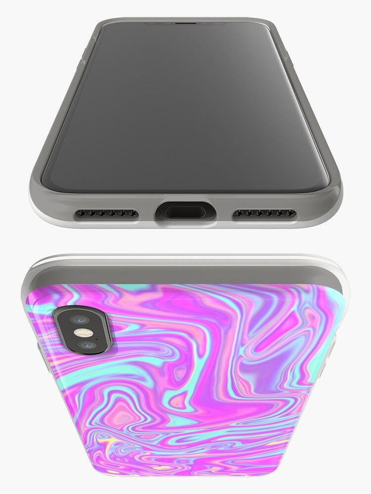 Alternate view of Liquid Rainbow iPhone Case & Cover
