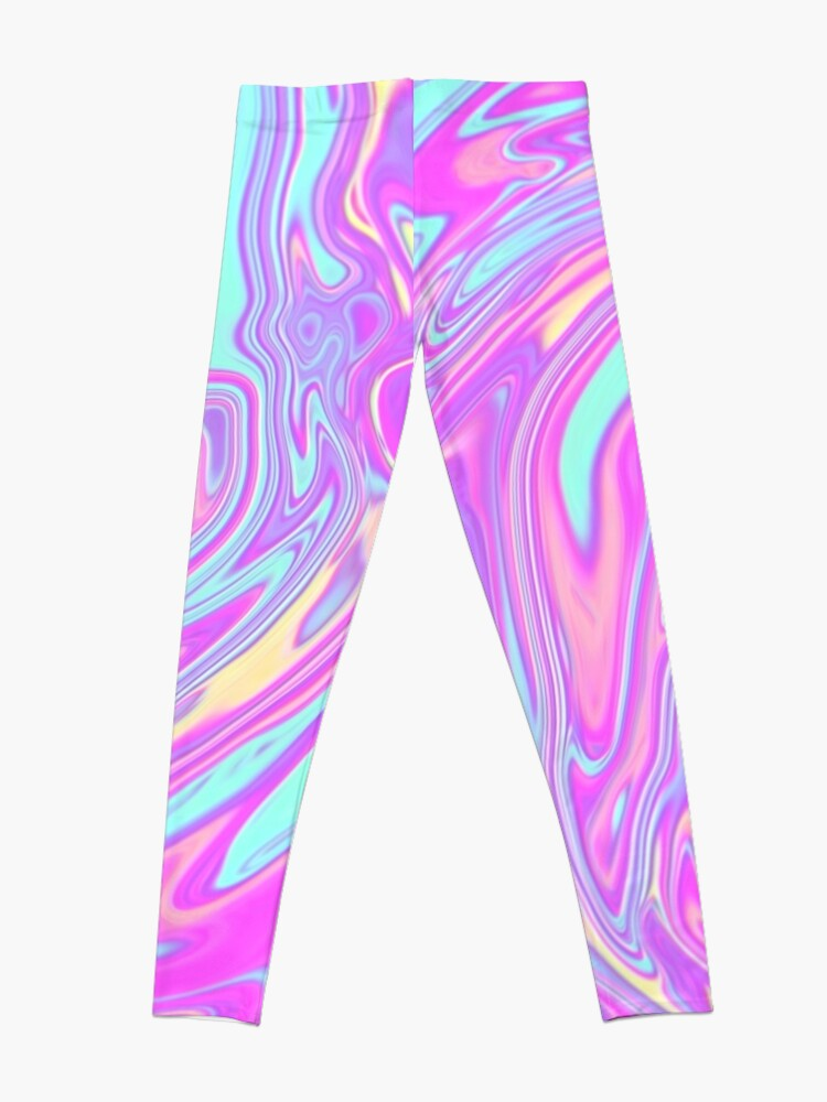 Alternate view of Liquid Rainbow Leggings