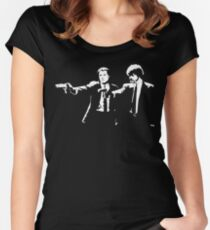 Pulp Fiction. Women's Fitted Scoop T-Shirt