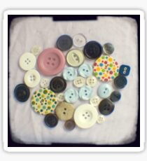 Buttons - ttv photograph Sticker
