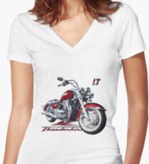 Triumph Thunderbird LT Women's Fitted V-Neck T-Shirt