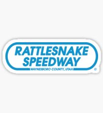 Rattlesnake Speedway - Inspired by Springsteen's 'The Promised Land' (unofficial) Sticker