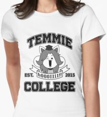 Temmie College Women's Fitted T-Shirt