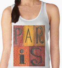 Paris Sign Women's Tank Top